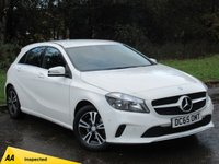 USED 2015 65 MERCEDES-BENZ A-CLASS 1.6 A 180 SE EXECUTIVE 5d 121 BHP * 128 POINT AA INSPECTED * FULL HEATED LEATHER INTERIOR *
