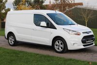 USED 2016 16 FORD TRANSIT CONNECT 1.6 240 LIMITED P/V 114 BHP 12 Months MOT - Long wheel base - LIMITED