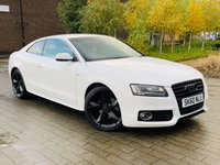 2010 AUDI A5 2.0 TDI S LINE SPECIAL EDITION 2d 168 BHP £8995.00