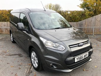 2016 FORD TRANSIT CONNECT 1.5TDCI T240 L2 LIMITED (EURO 6)(120 BHP) £9950.00
