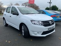 USED 2014 64 DACIA SANDERO 1.1 AMBIANCE 5d 75 BHP Finance Options Available Good / Bad Credit