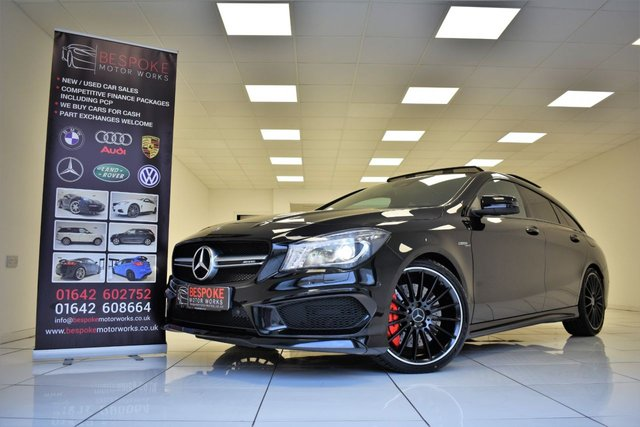 2016 16 MERCEDES-BENZ CLA 45 2.0 AMG 4MATIC SHOOTING BRAKE