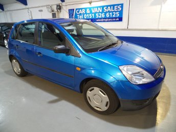 2004 FORD FIESTA 1.2 LX 16V 5d 74 BHP £995.00