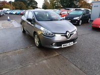 USED 2013 63 RENAULT CLIO 1.1L DYNAMIQUE MEDIANAV 5d 75 BHP Beautiful Driving, Economical, Reliable Renault Clio!