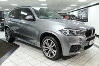 USED 2014 14 BMW X5 3.0 XDRIVE30D M SPORT 255 BHP PAN ROOF HEAD UP 360 CAM FBMWS