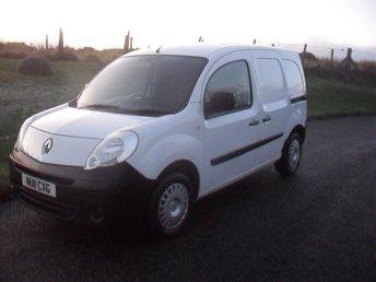 2011 RENAULT COMMERCIAL KANGOO Renault Kangoo Can £2850.00