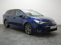USED 2016 66 TOYOTA AVENSIS 1.6 D-4D BUSINESS EDITION PLUS 5d 110 BHP REVERSING CAMERA + 5 SERVICES + 1 OWNER + FULL LEATHER + SAT NAV