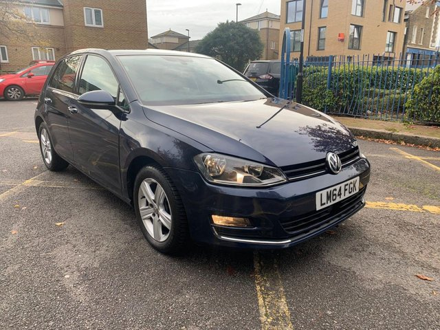 2014 64 VOLKSWAGEN GOLF 1.4 MATCH TSI BLUEMOTION TECHNOLOGY DSG 5d 120 BHP