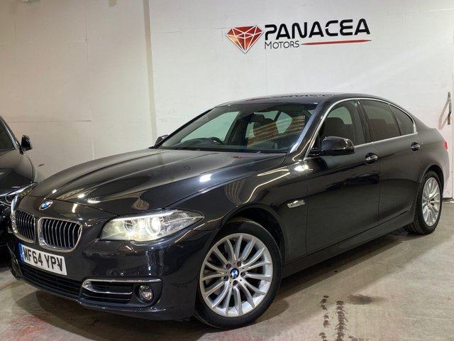 2014 64 BMW 5 SERIES 2.0 520D LUXURY 4d 188 BHP