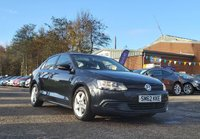 USED 2012 62 VOLKSWAGEN JETTA 1.6 SE TDI BLUEMOTION TECHNOLOGY 4d 104 BHP FULL SERVICE RECORD (9 STAMPS) * PARKING AID + 1 OWNER FROM NEW * MINIMUM 6 MONTHS MOT * ALLOY WHEELS *