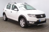 USED 2016 66 DACIA SANDERO STEPWAY 1.5 STEPWAY AMBIANCE DCI 5DR 1 OWNER 90 BHP FULL SERVICE HISTORY + FREE 12 MONTHS ROAD TAX + BLUETOOTH + AIR CONDITIONING + RADIO/AUX/USB + ELECTRIC WINDOWS