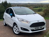 USED 2017 66 FORD FIESTA 1.0 ZETEC WHITE EDITION SPRING 5d 99 BHP