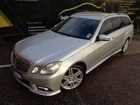 USED 2010 60 MERCEDES-BENZ E-CLASS 3.0 E350 CDI BLUEEFFICIENCY SPORT 5d 231 BHP No Deposit Finance & Part Ex Available