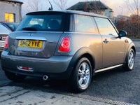 USED 2012 62 MINI HATCH ONE 1.6 ONE D 3d 90 BHP ALLOY WHEELS + FULL YEAR MOT + AUX&USB CONNECTION
