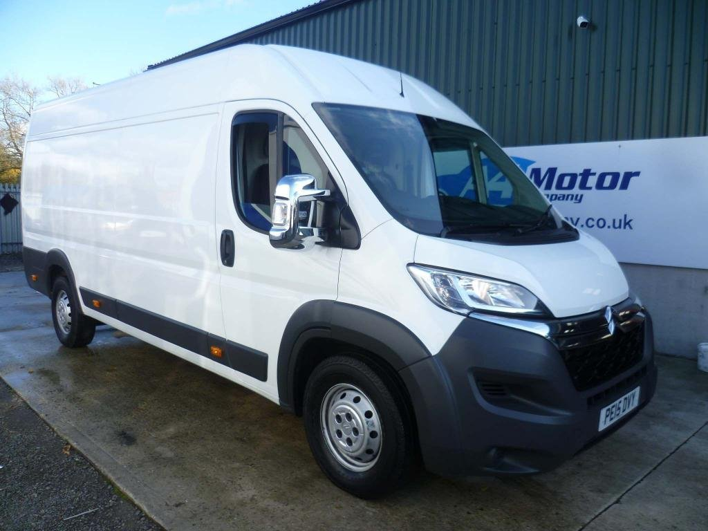 USED 2015 15 CITROEN RELAY 2.2 HDi 35 L4H2 Panel Van 5dr (Heavy) LWB - LOW MILEAGE - 2 OWNERS