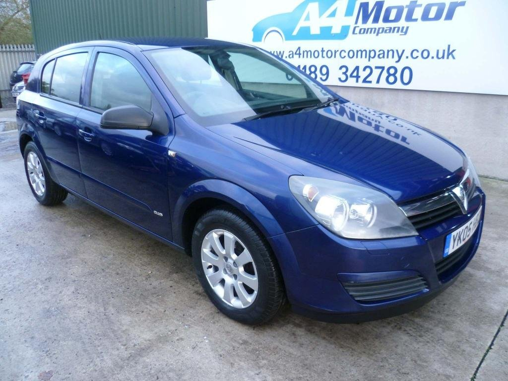 USED 2005 05 VAUXHALL ASTRA 1.6 i 16v Club 5dr PART EXCHANGE TO CLEAR