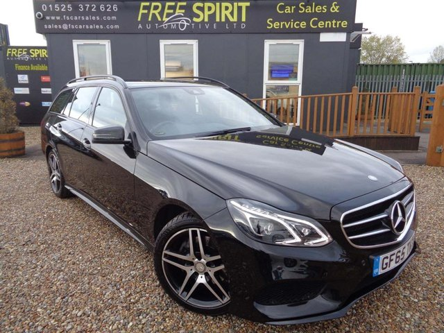 USED 2015 65 MERCEDES-BENZ E CLASS 2.1 E220 CDI BlueTEC AMG Night Edition 7G-Tronic Plus 5dr Nav, Bluetooth, Leather