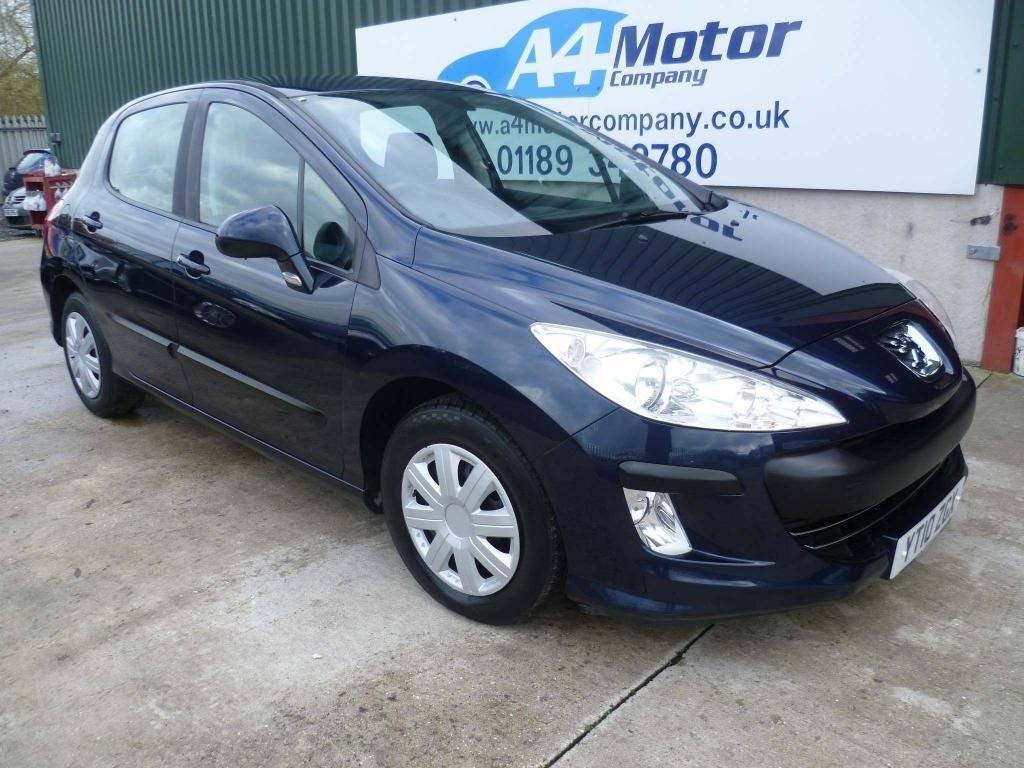 USED 2010 10 PEUGEOT 308 1.6 VTi S 5dr AUTOMATIC - LOW MILEAGE
