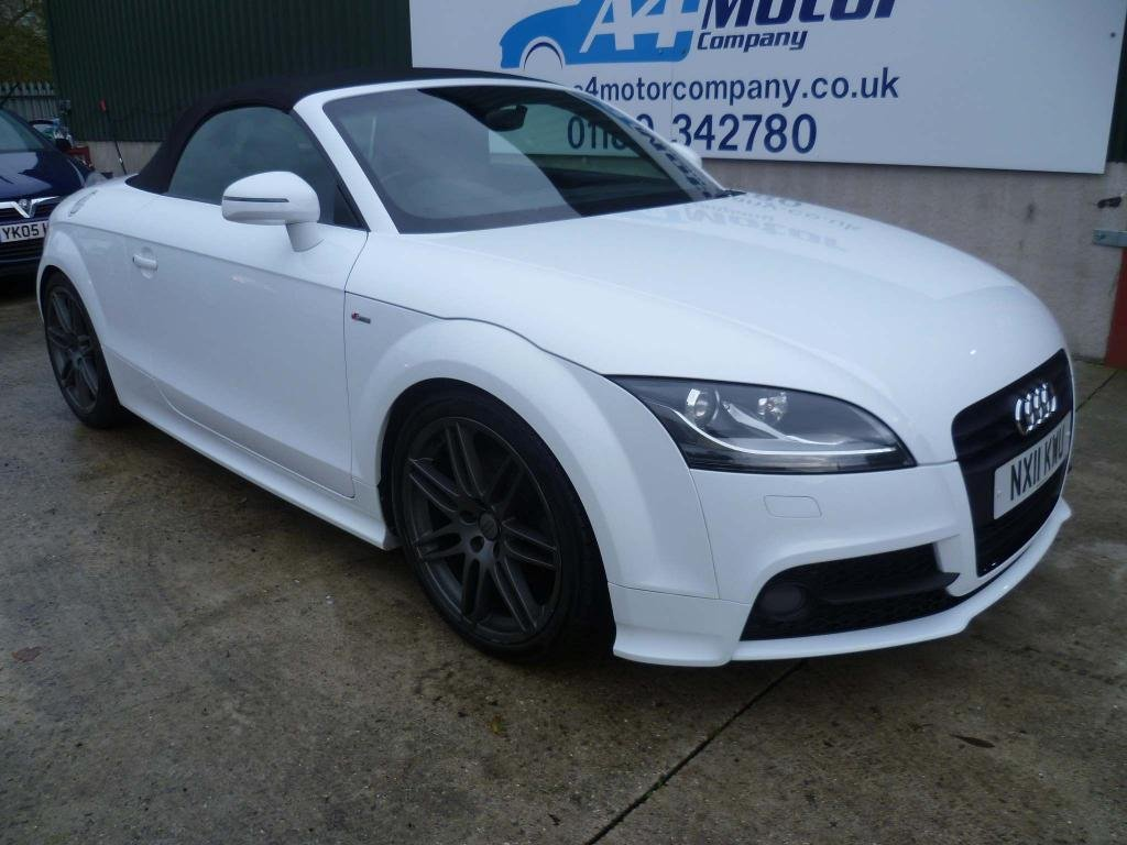 USED 2011 11 AUDI TT 2.0 TFSI Black Edition Roadster 2dr CONVERTIBLE, AUDI FSH! S-LINE!