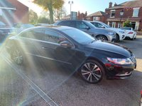 USED 2013 13 VOLKSWAGEN CC 2.0 TDI BlueMotion Tech GT DSG 4dr FULL SERVICE HISTORY