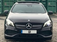 USED 2015 65 MERCEDES-BENZ A CLASS 1.5 A180d AMG Line (Premium Plus) (s/s) 5dr FMSH/PanRoof/NightPack/KeyLess
