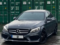 USED 2016 16 MERCEDES-BENZ C CLASS 2.1 C220d AMG Line (Premium) 7G-Tronic+ (s/s) 4dr PanRoof/KeyLess/RearCam/Xenons