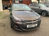 USED 2015 15 VAUXHALL ASTRA 1.4i Excite 5dr SERVICE HISTORY