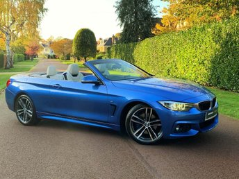 2017 BMW 4 SERIES 2.0 420d M Sport Auto (s/s) 2dr £24995.00