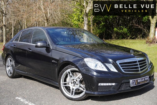 USED 2011 60 MERCEDES-BENZ E-CLASS 6.2 E63 AMG 4d 525 BHP - FREE DELIVERY* *COMAND NAVIGATION, AMG RIDE CONTROL, MEMORY SEATS!*