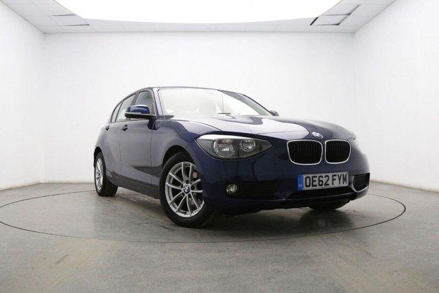 2012 62 BMW 1 SERIES 2.0 116D SE 5d 114 BHP
