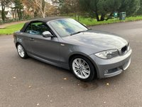 USED 2010 10 BMW 1 SERIES 2.0 118D M SPORT 2d 141 BHP M SPORT CONVERTIBLE 2 OWNERS FSH