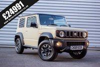 2019 SUZUKI JIMNY 1.5 SZ5 3d 102 BHP £24991.00