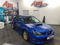 USED 2006 56 SUBARU IMPREZA 2.5 WRX STI TYPE UK 4d 276 BHP