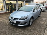 USED 2014 14 VAUXHALL ASTRA 1.6 EXCITE CDTI ECOFLEX S/S 5d 108 BHP FULL MAIN DEALER HISTORY-1 OWNER-FREE ROAD TAX-DIESEL-5 DOOR