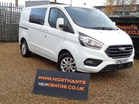 USED 2018 18 FORD TRANSIT CUSTOM 2.0 300 LIMITED DCIV L1 H1 130 BHP EURO6 6 SPEED