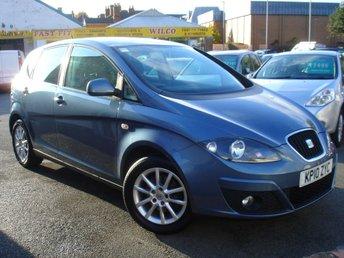 2010 SEAT ALTEA 1.9 SE TDI 5d 103 BHP £3795.00