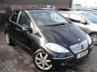 2006 MERCEDES A-CLASS 1.5 A150 AVANTGARDE SE 5d 94 BHP SOLD