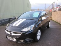 USED 2014 64 VAUXHALL CORSA 1.4 STING ECOFLEX 3d 89 BHP 1 PREV OWNER