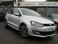 2014 VOLKSWAGEN POLO 1.2 MATCH EDITION 5d 69 BHP