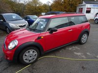 2010 MINI CLUBMAN 1.6 ONE 5d 98 BHP £5495.00