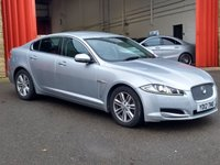 2012 JAGUAR XF 2.2 D LUXURY 4d 190 BHP £9484.00