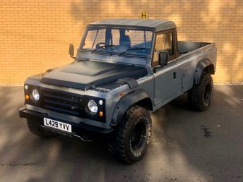 2012 LAND ROVER DEFENDER 110 PICK UP // 2.5L // px swap £12490.00