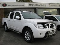 USED 2015 15 NISSAN NAVARA 2.5 DCI TEKNA 4X4 SHR DCB 188 BHP Navigation Reverse Camera. Cruise Control. Heated seats. Climate Control. Leather Full Service History