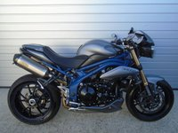 2013 TRIUMPH SPEED TRIPLE SPEED TRIPLE 1050 ABS SPECIAL EDITION £6994.00