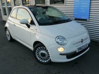 USED 2013 63 FIAT 500 0.9 LOUNGE 3d 85 BHP