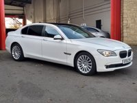 USED 2012 61 BMW 7 SERIES 3.0 730LD SE 4d 242 BHP