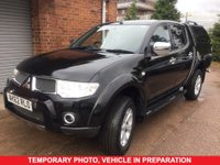 USED 2012 62 MITSUBISHI L200 2.5 DI-D 4X4 BARBARIAN 5 Seat Family Lifestyle Double Cab Pickup with Rear Canopy Load Liner and NO VAT TO PAY SO YOU SAVE 20% ** LOW MILEAGE FOR AGE**