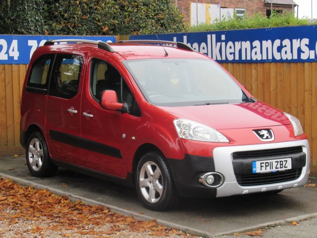 USED 2011 11 PEUGEOT PARTNER 1.6 TEPEE OUTDOOR HDI 5d 112 BHP CLEAN CAR WITH SERVICE HISTORY