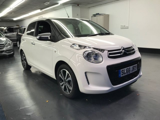 USED 2016 66 CITROEN C1 1.0 FLAIR ETG 5d 68 BHP 1 PREVIOUS OWNER, BLUETOOTH PHONE AND AUDIO, REAR CAMERA