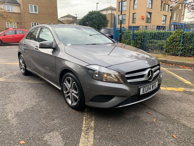 2014 14 MERCEDES-BENZ A-CLASS 1.6 A180 BLUEEFFICIENCY SPORT 5d 122 BHP